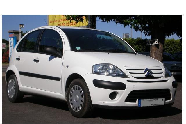 Location voiture Cat B