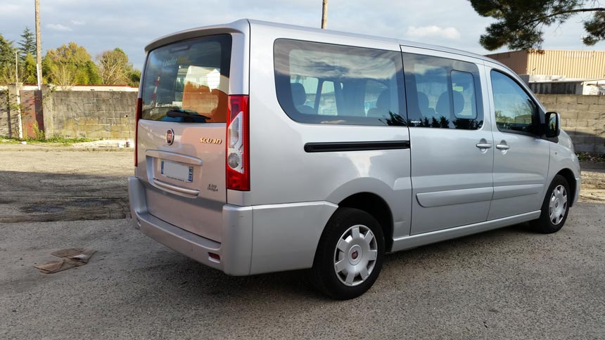 fiat scudo occasion 9 places