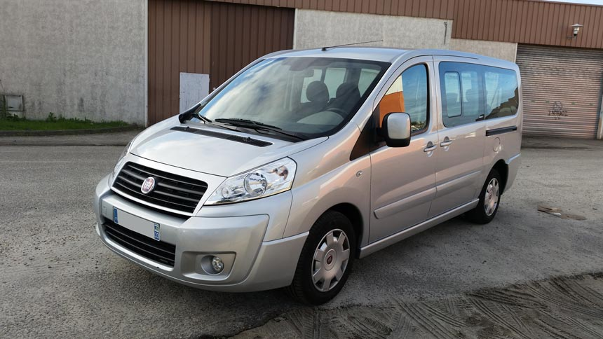 Fiat Scudo Panorama 9 places - 128 ch
